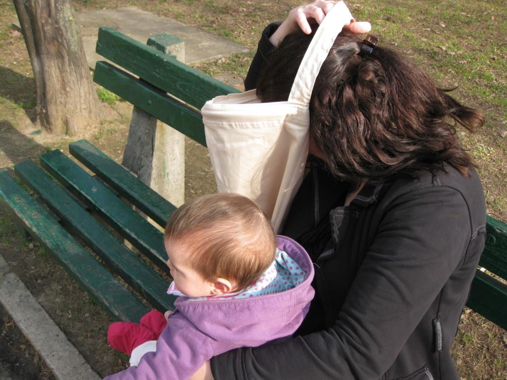 Namestanje marame za dojenje je jednostavno