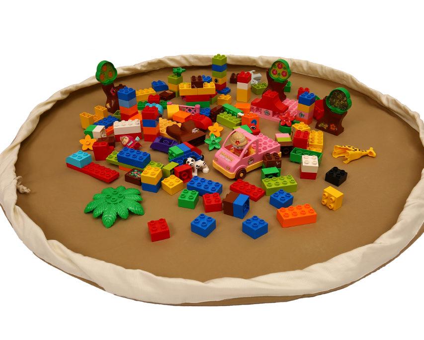 Otvorena Bebarama vreća za Lego kocke i igračke