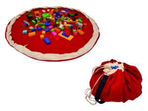 Crvena Bebarama vreca za Lego kocke i igracke