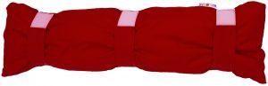 J08 - Plameno crveni jastuk za putovanja