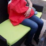 Marama za dojenje u kafiću