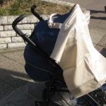 Marama za dojenje kao zaklon od sunca